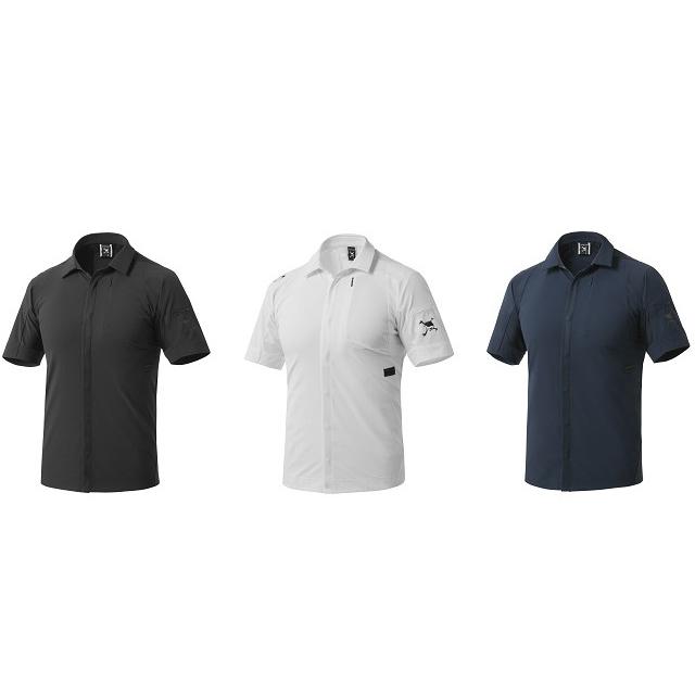 オークリー ゴルフ ウェア スカル シャツ【OAKLEY】SKULL SYNC HYBRID SHIRTS【SLIM】カラー:BLACKOUT(02E)カラー:WHITE(100)カラー:FATHOM(6AC)434083JP