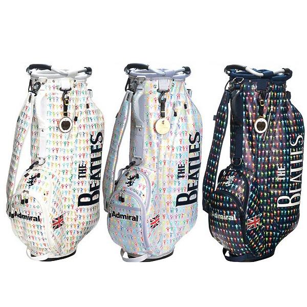 アドミラル ゴルフ キャディバック【Admiral】【限定品】THE BEATLES STAND BAG SETカラー:ホワイト(00)カラー:グレー(19)カラー:ネイビー(30)★ヘッドカバー(DR,FW用)が付属しています。ADMG7SC5送料無料【沖縄・離島 配送不可】