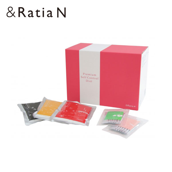 アンドラティア &Ratia プレミアムセルフコントロールダイエット 250g×14袋 1.5g×14袋