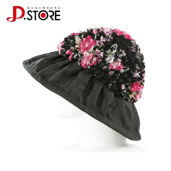ドリーム プロイデア 有松絞りのふんわり花柄帽子