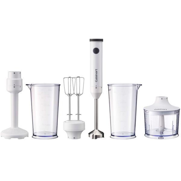 Cuisinart クイジナート スリム&ライト マルチハンドブレンダー マッシャー付 ホワイト HB-702WJ