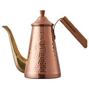 『Made in TSUBAME』を取得した、確かなクオリティ!! Kalita カリタ TSUBAME 燕 コーヒー ドリップポット スリム 700CUW 52204