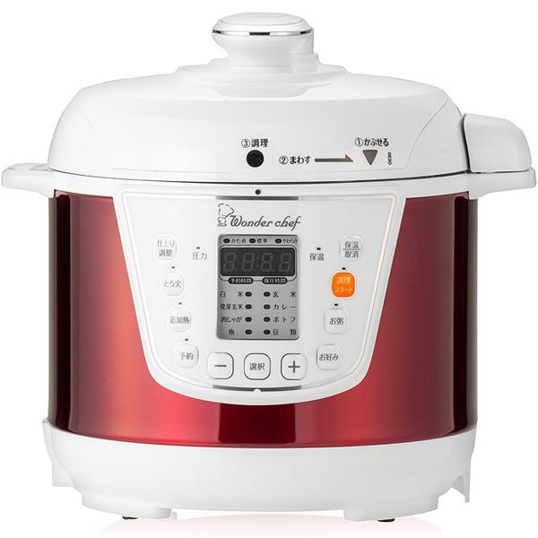 ワンダーシェフ 家庭用マイコン電気圧力鍋 3L OEDC30 R1 楽ポン 310163