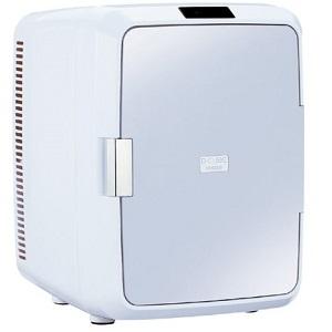ツインバード 2電源式コンパクト電子保冷保温ボックス D-CUBE X HR-DB08GY