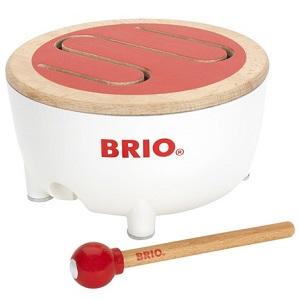 ドラムをたたいてビートにのって BRIO ブリオ 通販 激安◆ 評価 BRIOドラム 楽器 30181