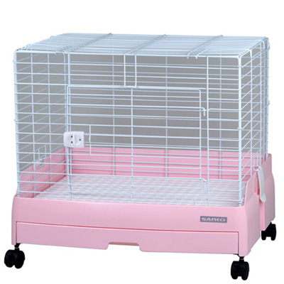 ウサギのおうち 三晃 イージーホーム エボ 60 (ピンク)  *