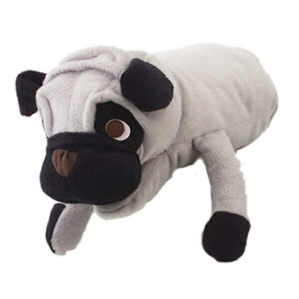 手にはめて愛犬と遊ぶ ランキングTOP10 当店人気のスキンシップトイ 新品 送料無料 アニマルミトン パグ ボンビアルコン 犬用おもちゃ パペット ぬいぐるみ ミトン セール品 4977082293179