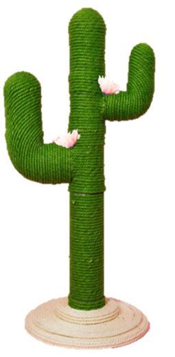 工具要らずで組立カンタン 爪とぎタワー サボテン Jr 猫用品 格安店 木登りがだいすきなねこちゃんも満足 どこでも爪とぎやり放題 一部予約 キャットタワー