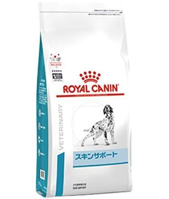皮膚疾患の犬のために スキンサポート 〔8kg〕ロイヤルカナン お買得 犬用療法食 《ドライ》アレルギー対策 付与