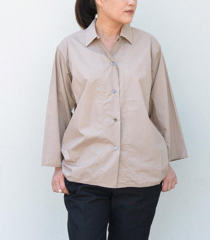 【アウトレット】【送料無料】SOFIE D'HOOREソフィードールコットンポプリンシャツ【全4色】
