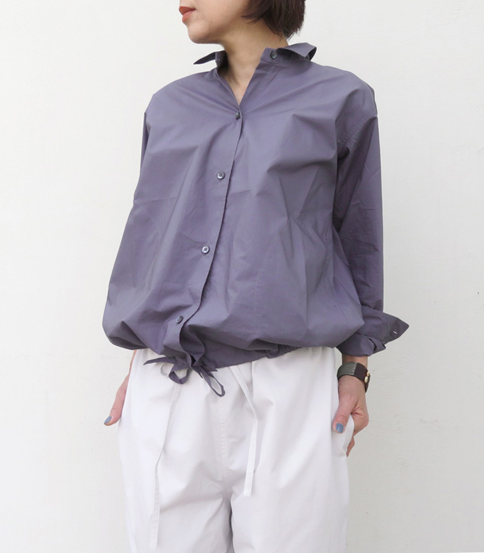 【アウトレット】【送料無料】2019SSSOFIE D'HOOREソフィードールロングスリーブポケットシャツ【全2色】