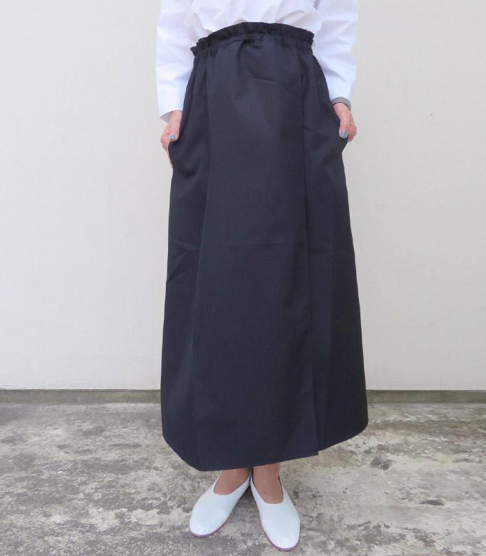 【アウトレット】【送料無料】2019SSSOFIE D'HOOREソフィードールロングラップスカート【全2色】