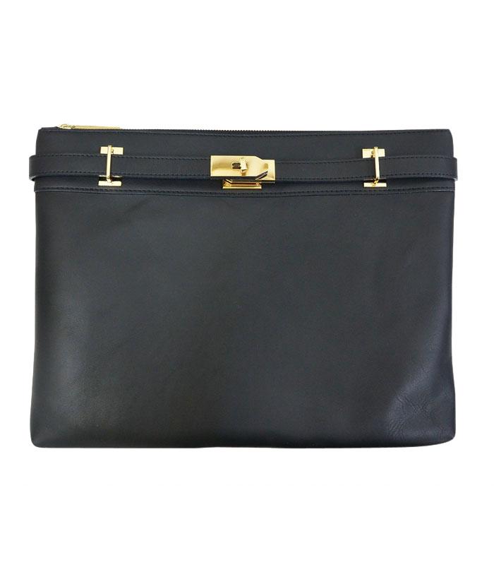 【アウトレット】M.U.Lエムユーエルmetal clutch bag