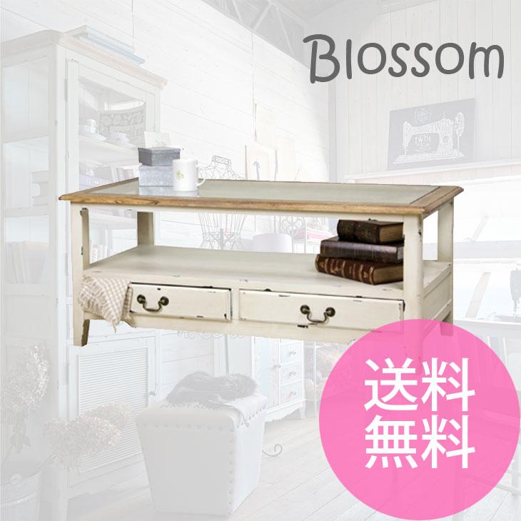 【送料無料】ブロッサム コーヒーテーブル※メーカー直送の為同送・代引き不可 COL-013