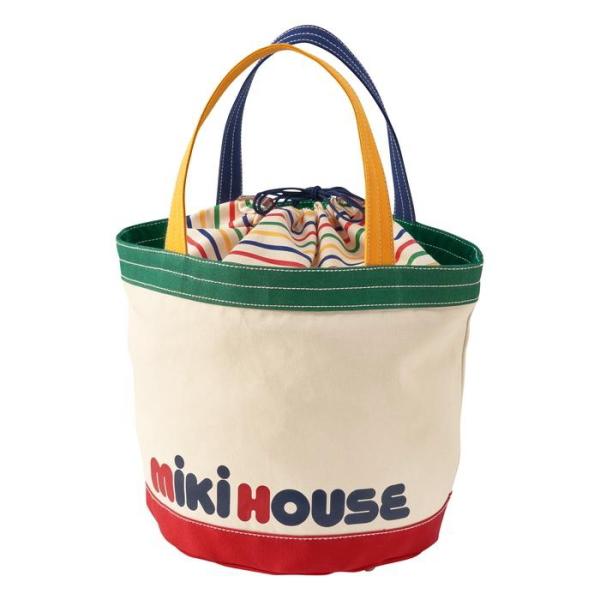 MIKIHOUSE ミキハウス キャンバストートバッグご挨拶 ギフト 出産内祝い 出産お祝い 内祝い プレゼント