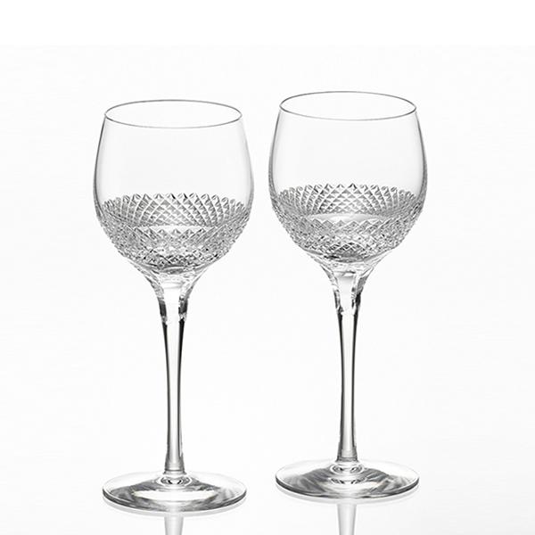 カガミクリスタルペア赤ワイングラス<エクラン>ギフト 出産内祝い 新築内祝い 入学内祝い 結婚内祝い 快気祝 御礼 プレゼント 記念品 誕生日 母の日