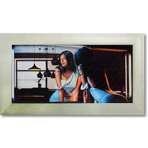 ピエール ベンソン「イン ザ ディム ライト」インテリア 壁掛け 額入り 額装込 風景画 油絵 ポスター アート アートパネル リビング 玄関 モダン アートフレーム おしゃれ 飾る 4Lサイズ 内祝い お返し プレゼント 誕生日 記念品 記念日