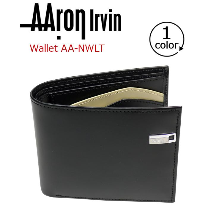 ≪週末限定ポイント10倍≫ AAron Irvin アーロン・アーヴィン 財布 ウォレット 二つ折り財布 送料無料 メンズ 通勤 おしゃれ 人気