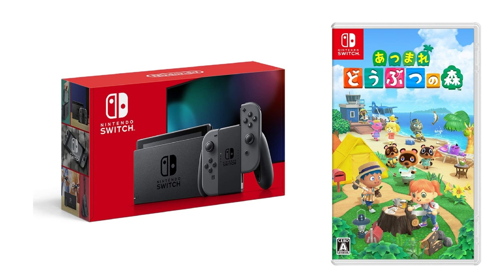 【18%OFF】 Nintendo Switch 本体 (ニンテンドースイッチ) Joy-Con(L)/(R) グレー(バッテリー持続時間が長くなったモデル), シューズメガアイビー 6a3eeb33