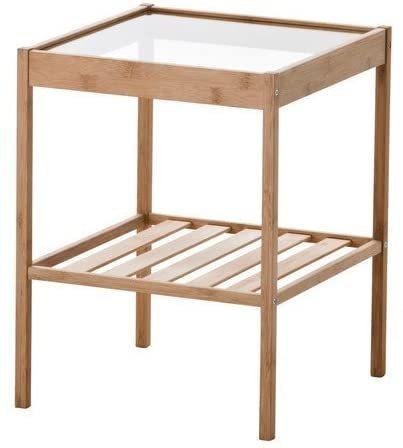 在庫あり 1~3営業日以内にご発送対応 NESNA ベッド サイドテーブル 注目ブランド ネスナ 36x35 爆買い新作 cm 20247128 寝室 ベッドルーム 机 北欧 ガラス IKEA 収納棚 かわいい コーヒーテーブル デスク ソファ イケア カフェ おしゃれ 収納付き
