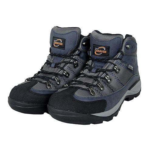 キャラバン Caravan ユニセックス 登山靴 トレッキングシューズ FTC-2 ネイビー 10022670