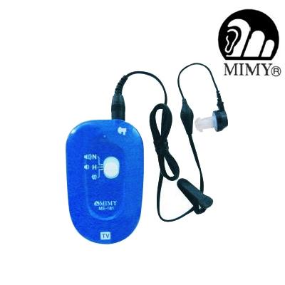 ミミー電子 ポケット型補聴器 オリーブ ME-181軽度 中度 高度難聴まで対応※非課税商品