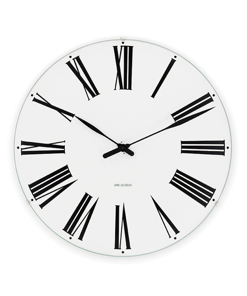 ARNE JACOBSEN Wall Clock Roman 160mm(43622 160mm)