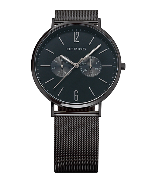 BERING Unisex Changes Mesh&Leather 14240-222(14240-222 ブルー×ブラック)