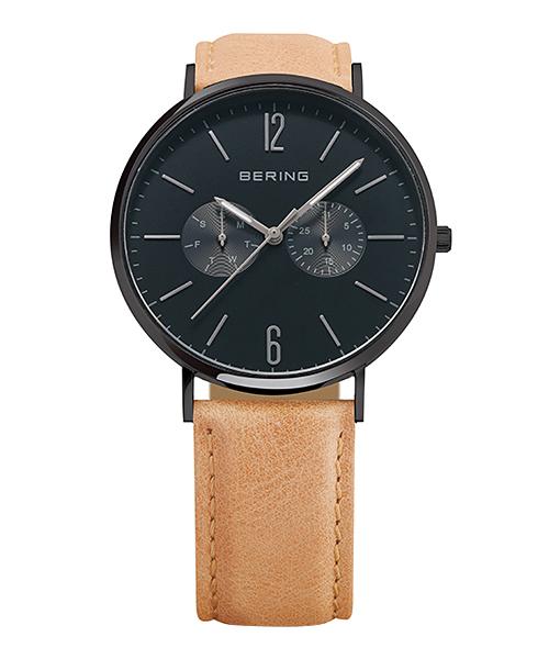 BERING Unisex Changes Mesh&Leather 14240-222(14240-222 ブルー×ブラック)