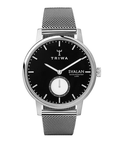 TRIWA EBONY SVALAN STEEL MESH SUPER SLIM(SVST103-MS121212 ブラック×シルバー)