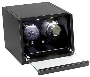 BOXY Design Wooden winder ウォッチワインダー CA-02 アダプター付【正規販売店】