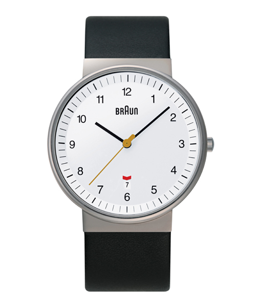 BRAUN Watch BN0032 Leather(BNH0032WHBKG ホワイト)