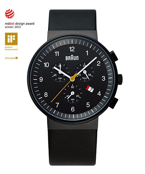 BRAUN Watch BN0035(BNH0035BKBKG ブラック)