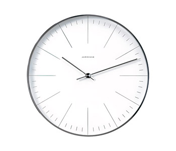 Max Bill by junghans Wall Clock 367 6049 00
