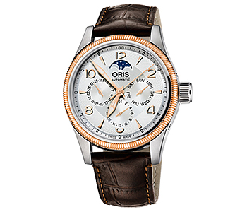 ORIS/オリス【アヴィエイション】ビッグクラウン コンプリケーション 58276784361D