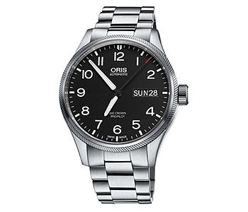 ORIS/オリス【アヴィエイション】ビッグクラウン プロパイロット デイデイト 75276984164M