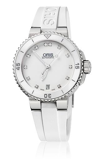 ORIS/オリス【ダイビング】アクイス デイト ダイヤモンド 73376524191R