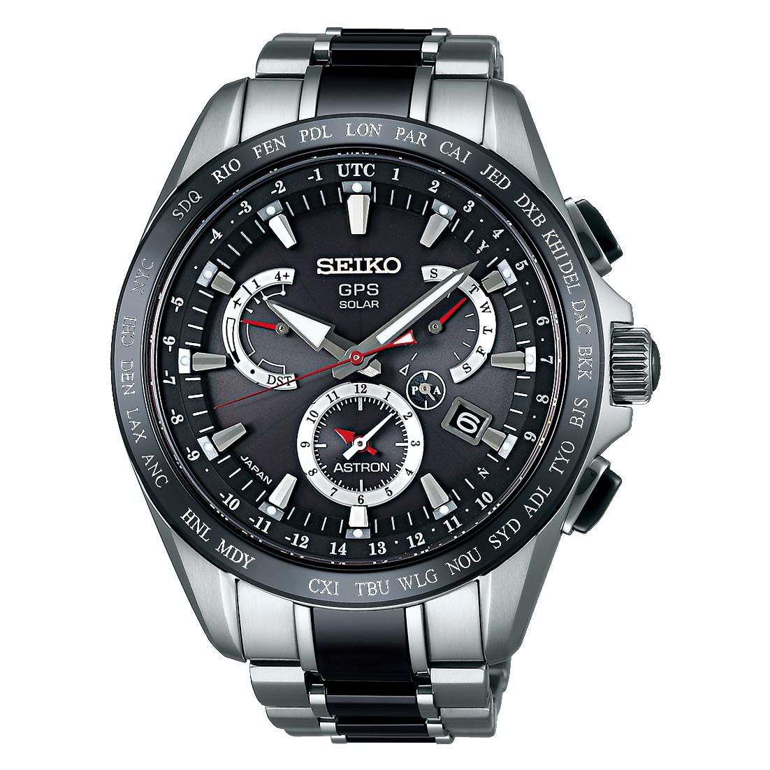 SEIKO ASTRON/セイコー アストロン SBXB041 8X Series Dual-Time デュアルタイム 8X53 Titanium Models チタニウムモデル
