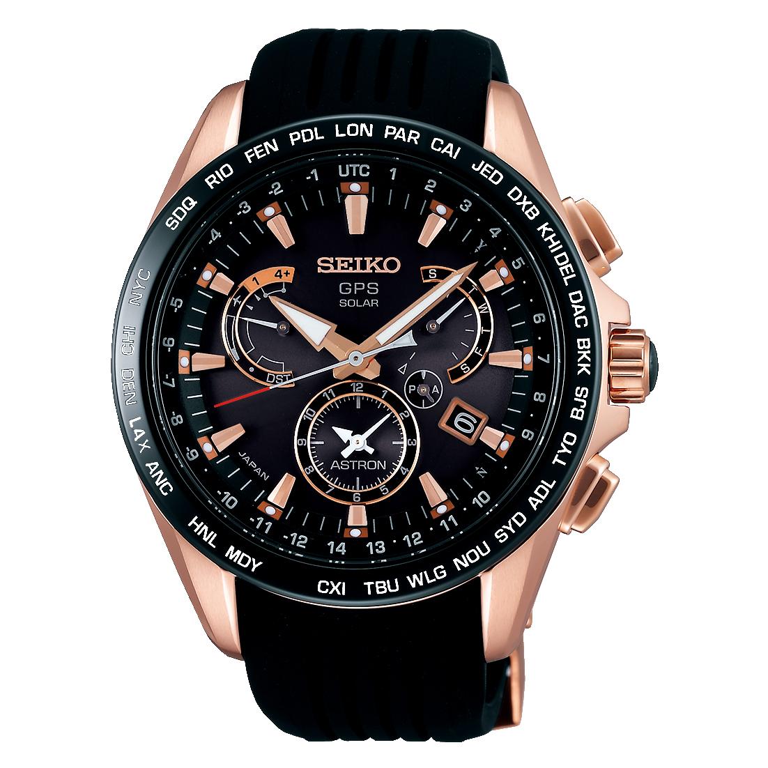 SEIKO ASTRON/セイコー アストロン SBXB055 8X Series Dual-Time デュアルタイム 8X53 Stainless Steel Models ステンレススチールモデル