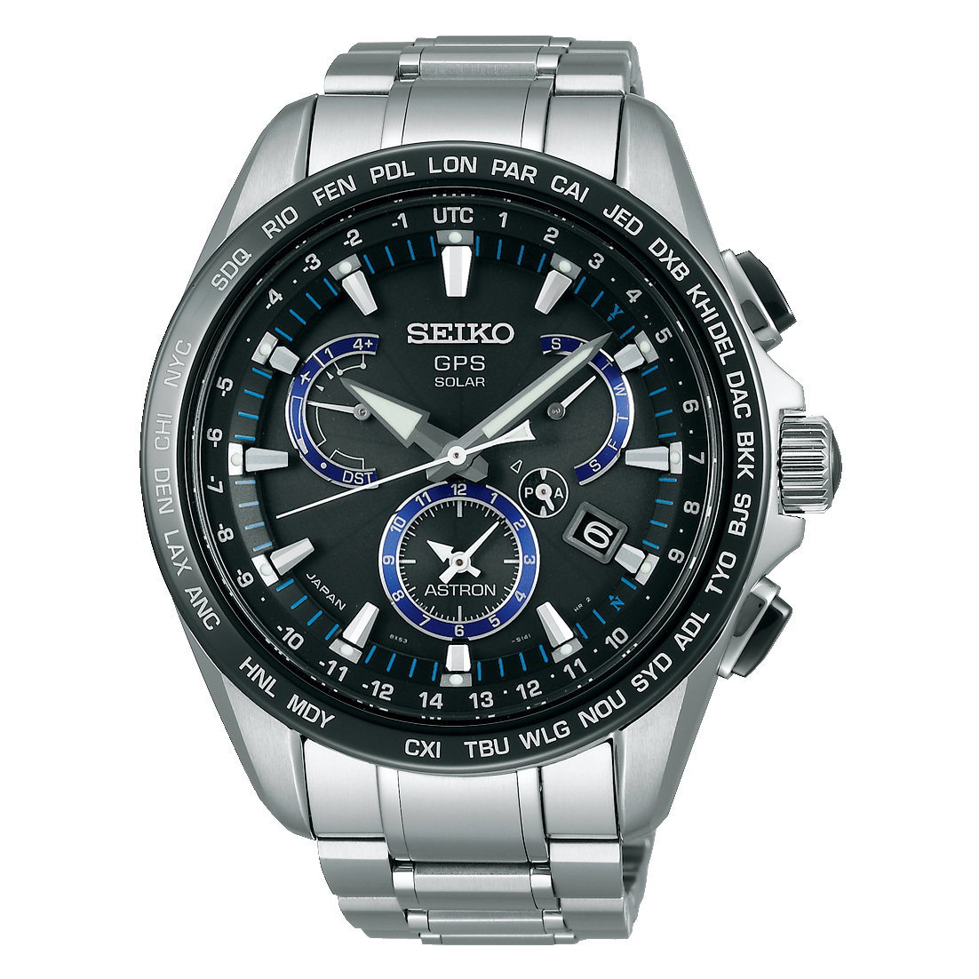 SEIKO ASTRON/セイコー アストロン SBXB101 8X Series Dual-Time デュアルタイム 8X53 Titanium Models チタニウムモデル