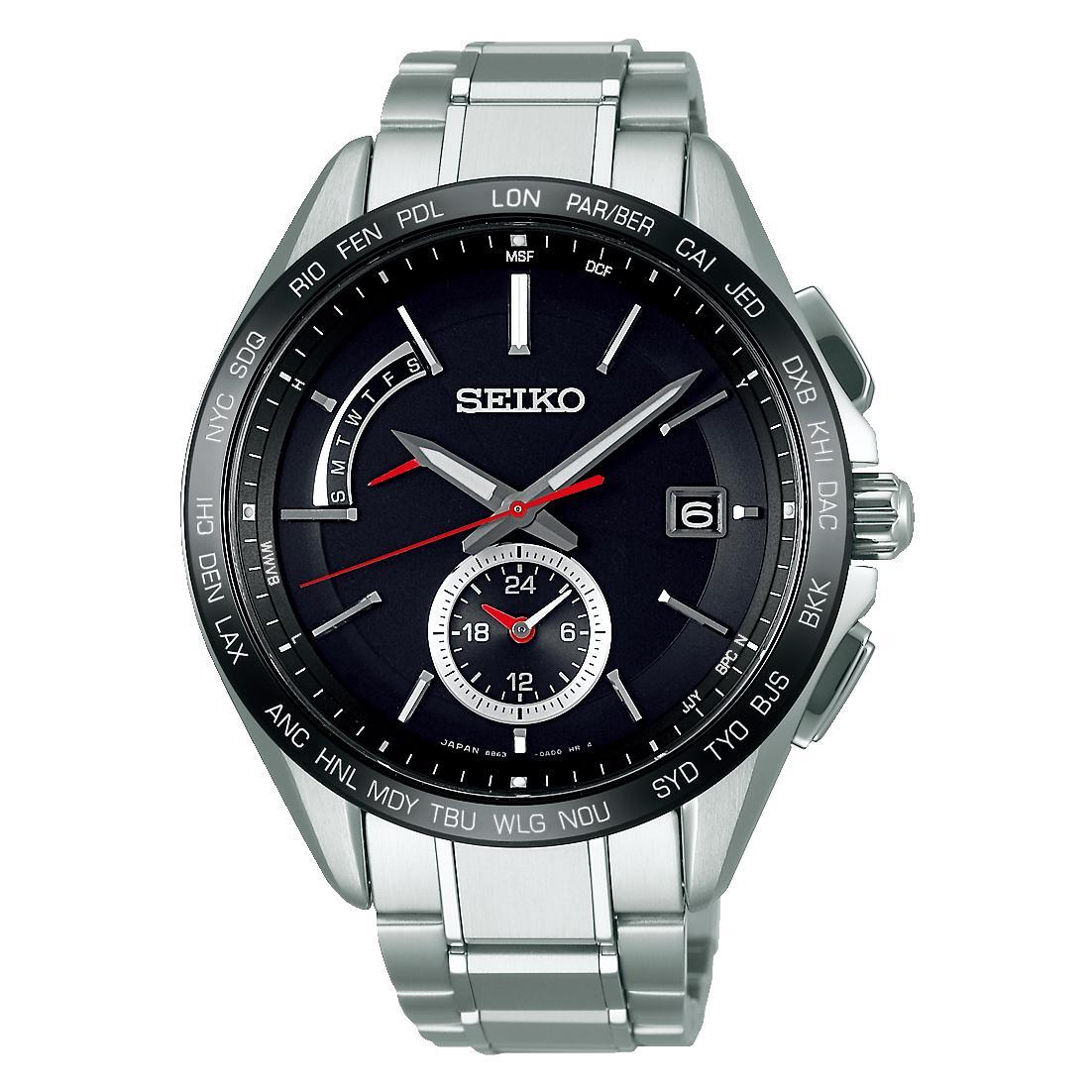 SEIKO セイコー BRIGHTZ ブライツSAGA241 ソーラー電波時計【正規販売店】