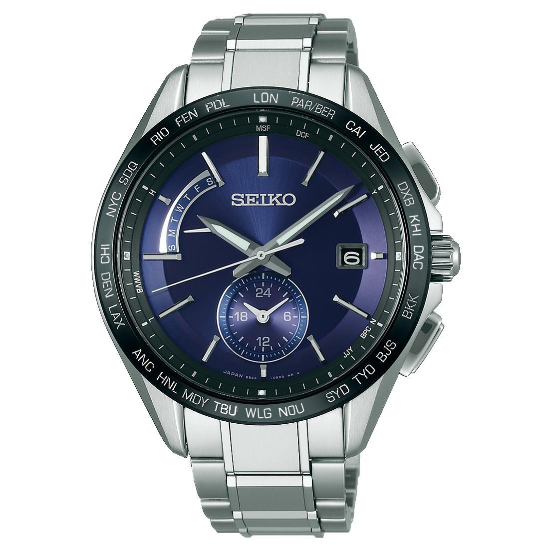 SEIKO セイコー BRIGHTZ ブライツSAGA231 ソーラー電波時計【正規販売店】