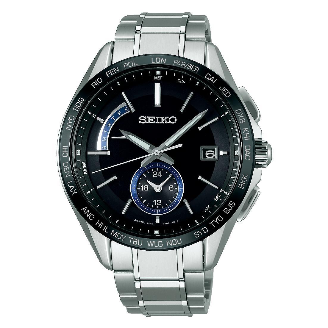 SEIKO セイコー BRIGHTZ ブライツSAGA235 ソーラー電波時計【正規販売店】
