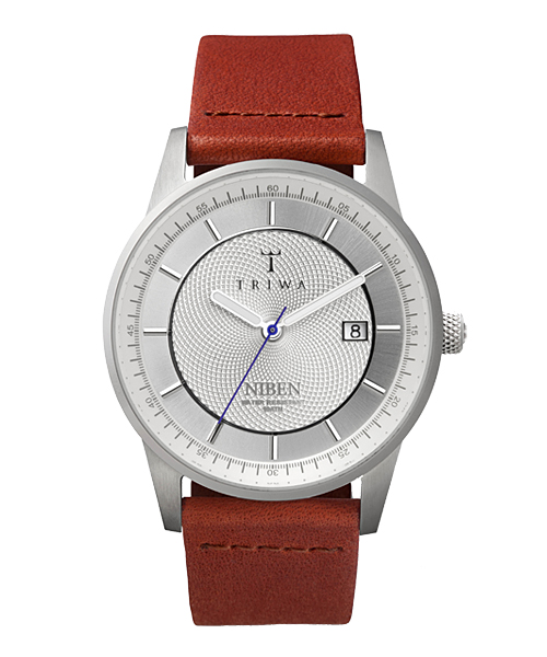TRIWA WATCH NIBEN STIRLING(NIST101-CL010212 シルバー×ブラウン)