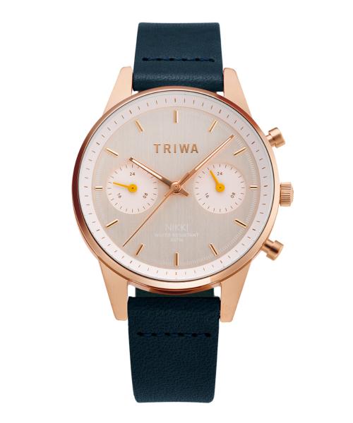 TRIWA JAPAN LIMITED NIKKI(NKST107-SS110714P 日本限定 ローズゴールド×イエロー×ブラック)