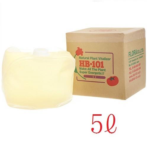 【!!クーポン配布中!!】 フローラ 天然植物活力液 HB-101 5L 業務用 大容量