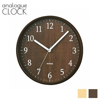 あす楽 日 祝日除 送料無料 ウッド調掛け時計 掛時計 時計 モダン LF656B02b000 ウォールクロック 壁掛け時計 スーパーSALE 25%OFF セール期間限定 シンプル 音がしない