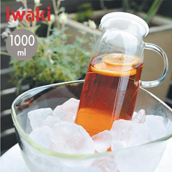 【あす楽】iwakiジャグ・1000(ホワイト)KT294-W【 冷水筒 ジャグ ピッチャー 麦茶ポット 】4905284090241