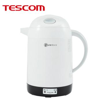 しっかり沸かす沸とうタイプ 激安挑戦中 飲みたいときにいつでも飲める 送料無料 代引不可 電気ポット 秀逸 260x230x154mm TP18-W テスコム TESCOM ポット 4975302816030