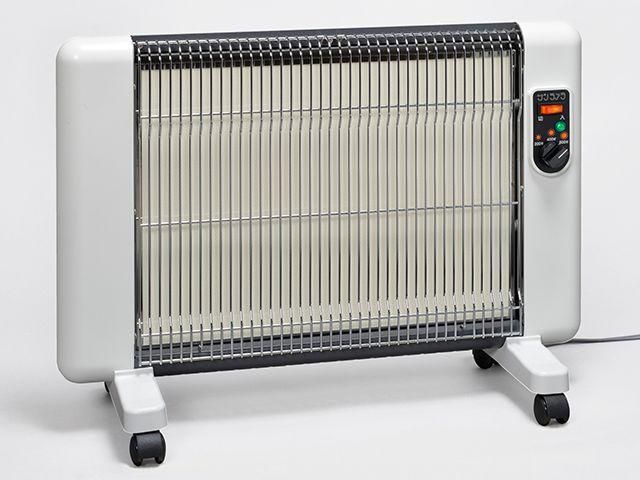 遠赤外線輻射式セラミックヒーターサンラメラヌーボー SL-610/シフォンホワイト(SW)シリーズ累計35万代以上の販売実績!!送料無料